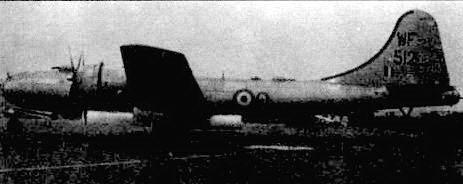 «Вашингтон В Мк.1» (WF5I2), бывший В-29А (44-62016), служил в составе 44-й эскадрильи в 1951 году. База эскадрильи находилась в Мархеме. Всего англичане сформировали девять эскадрилий самолетов того типа.