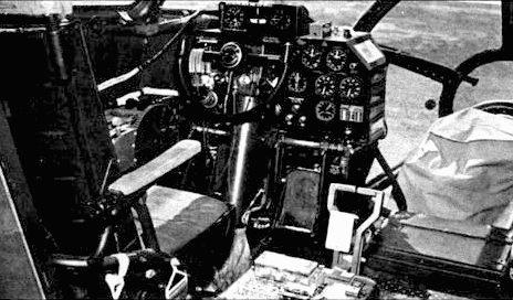 Кабина пилота В-29