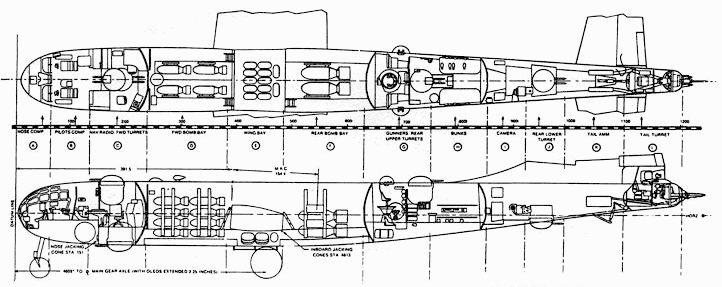 Компоновка В-29