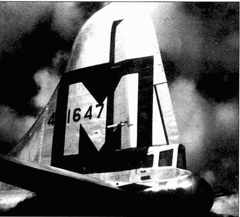 В-29из 19-й группы. В хвостовой установке только пара 12,7-мм пулеметов.