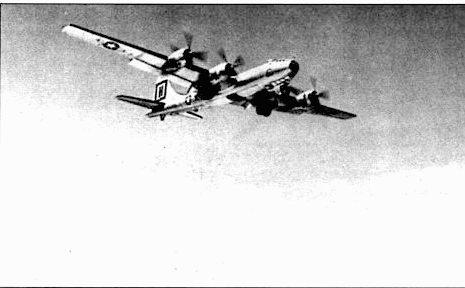 В-29 «Fire Ball» из 98-й группы. Самолет первым вылетел с базы Фейрчайлд в Йокоту. На новой базе группа оставалась до июня 1952 года.