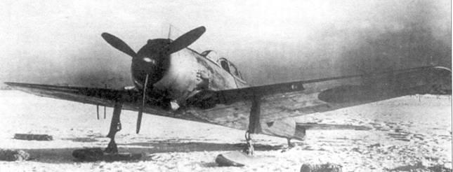 Ки-43-III-Ko с лыжным шасси.