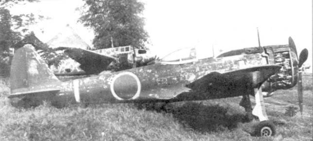 Ки-43-II-Каи, 1-й чутай, 1-й сентай, брошенный в Лузоне, Филиппины, 1945 год.
