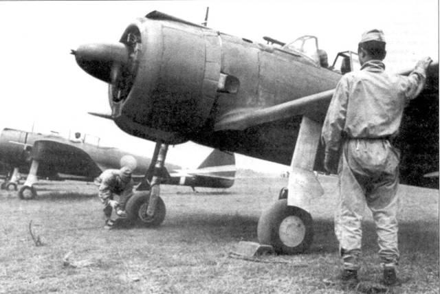 Ки-43-I-Хей «Хаябуса», 50-й сентай, аэродром Токорказава, июнь 1942 года.