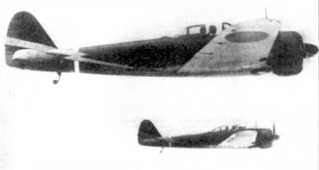 Два Ки-43-I–Xeй, 50-й сентай, Парма, конец 1942 года.