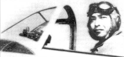 Лучший ас японской армейской авиации, сержант Сатоси Анабуки, 3-й чутай, 5-й сентай в кабине своего Ки-43-II. Пилот заявил не менее 51 воздушной победы.