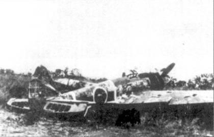 Брошенный Ки-43-I-Хей, из 11-го сентая, Новая Гвинея, 1943 год.