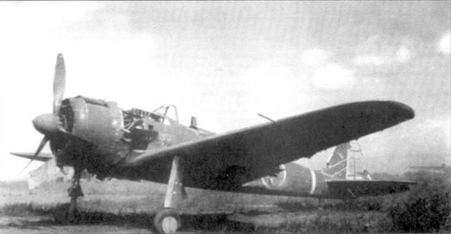 Брошенный Ки-43-II-Ko из 2-го чутая 59-го сентая, Новая Гвинея, апрель 1944 года.