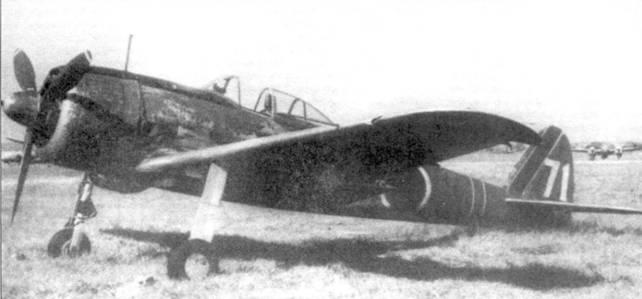 Ки-43-II-Ко командира 2-го чутая 25-го сентая, лейтенанта Наказо Озаки, Нанкин, Китай, лето 1943 года. 25-й сентай был главным противником 14-й воздушной армии во время боев в Китае.