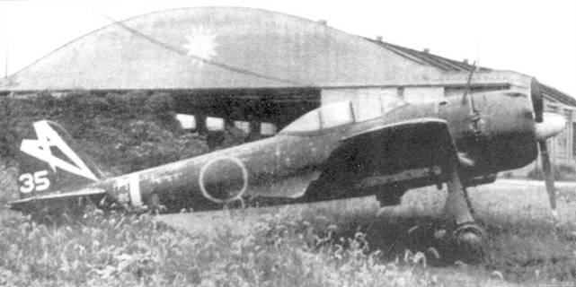 Ки-43-III-Ko из 48-го сентая, брошенный в Китае, 1945 год.