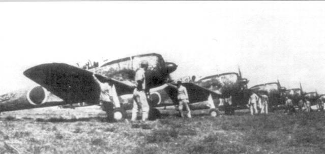 Ки-43-II из чисти, дислоцированной в глубоком тылу, 1944 год.