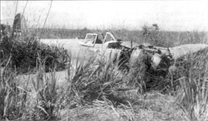 Ки-43-I-Хей, брошенный на аэродроме Кейп-Глочестер, 1 апреля 1944 года.