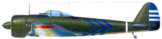 Ки-43-I-Хей, 3-й чутай, 1-го сентай, база Акено, лето 1942 года.