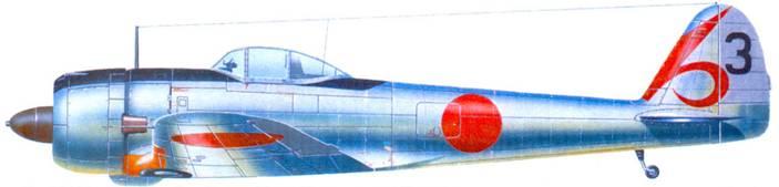 Ки-43-II-Оцу, 55-й сентай, лейтенант Томио Тода, аэродром Кемаки, район Нагои, лето 1944 года.