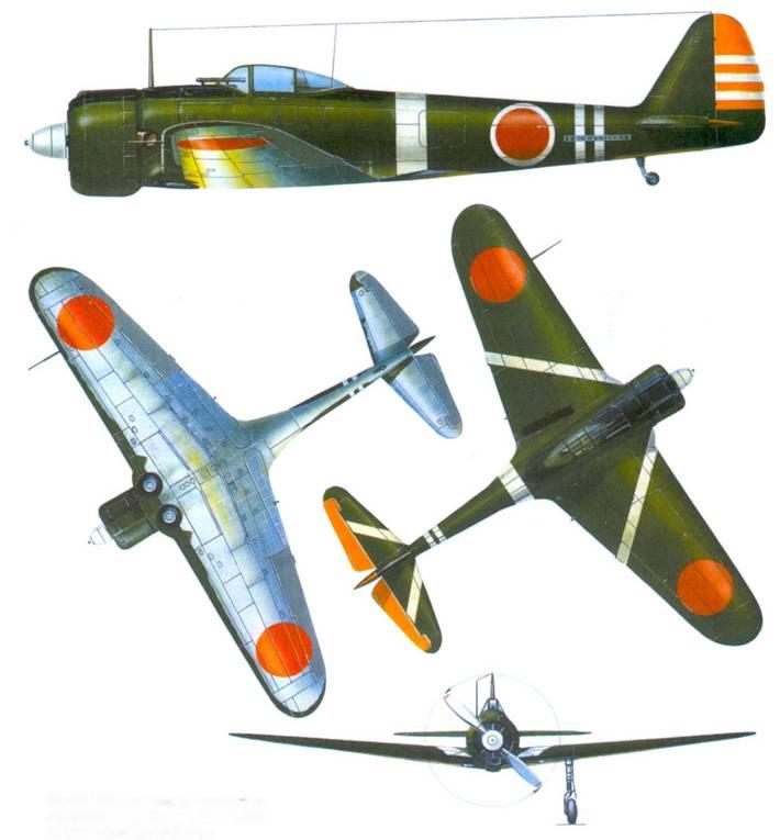 Ки-43-I–Xeй, командир 1-го сентая, майор Кинисиро Такеда, Ханой, Индокитай, октябрь 1942 года.
