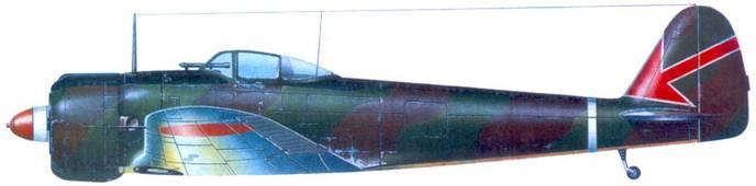 Ки-43-I–Xeй, 2-й чутай, 64-й сентай, аэродром Сунгей-Патани, Малайя, март 1942 года.