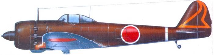 Ки-43-III-Ко, 3-й чутай 33-й сентай, лейтенант Хитоси Ямамото, аэродром Биреуи, Суматра; октябрь 1944 года.