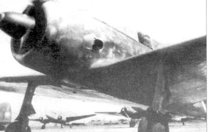 Ки-43-II-Ko ранней производственной серии, авиашкола в Акено, 1943 год.