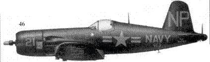 46.F-4U-5N 24453 «ANNIE МО» лейтенанта Гая Борделона их эскадрильи VC-6