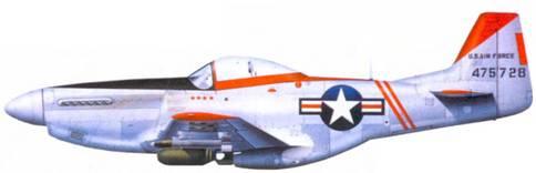 F-51D майора Арнольда Маллинса