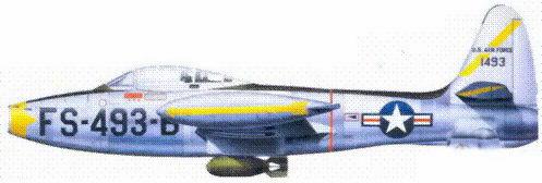 F-84E лейтенанта Джэкоба Кратта
