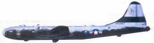 В-29В из 28 бомбардировочной эскадрильи