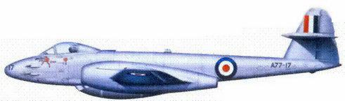 «Метеор» F.Mk.8 флэг-офицера Брюса Джогерли