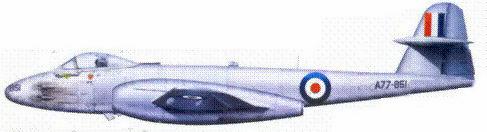 «Метеор» F.Mk.8 сержанта Джорджа Хэла