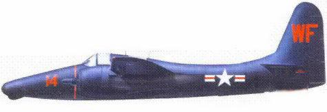 F7F-3N летчика капитана Лонга и оператора РЛС Букингэма