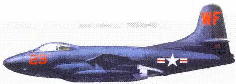 F3D-2 майора Уильяма Стрэттона и сержанта Ганса Хоглинда