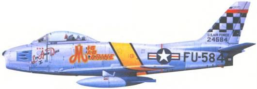 F-86F майора Джона Гленна