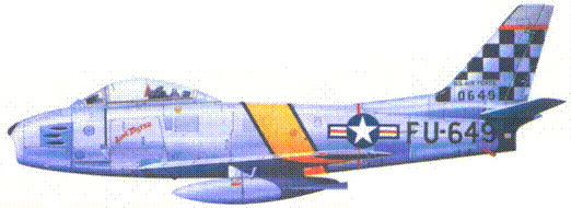 F-86E лейтенанта Вальтера Коупилэнда