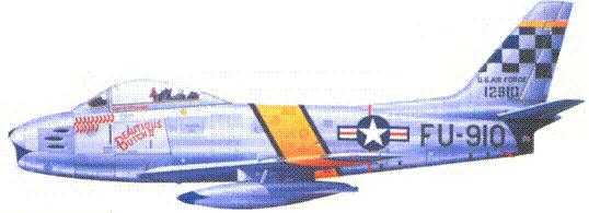 F-86F 1-го лейтенанта Джозефа Макконнелла
