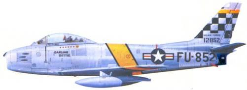 F-86F майора Джона Болта