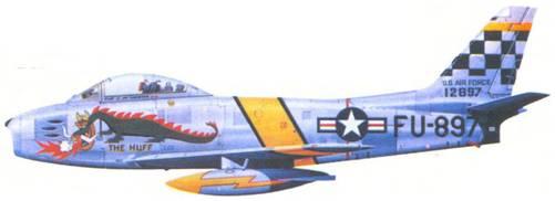 F-86F лейтенанта Джеймса Л. Томпсона