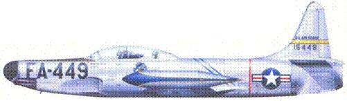 F-94B капитана Бена Фитиана и лейтенанта Сэма Р. Лайонса