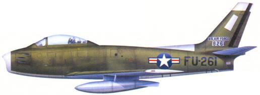 F-86A 1-го лейтенанта Дональда Торреса