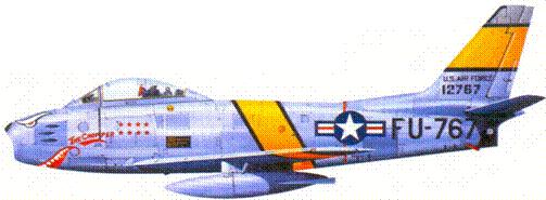 F-86E майора Феликса Эслы