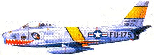 F-86A 1-го лейтенанта Джозефа И. Филдса