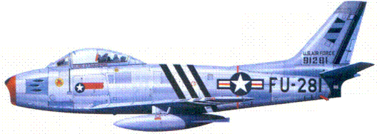 F-86A полковника Гленна Т. Иглстоуна