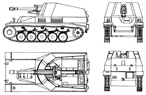 10,5 cm leFH 18/2 auf Pz.II Wespe (Sd.Kfz.124)