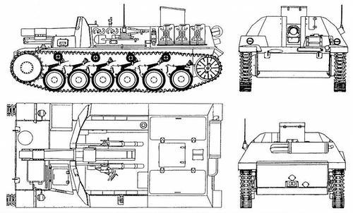15 cm <a href='https://arsenal-info.ru/b/book/4090511870/48' target='_self'>sIG 33</a> auf Pz.II (SturmpanzerII)