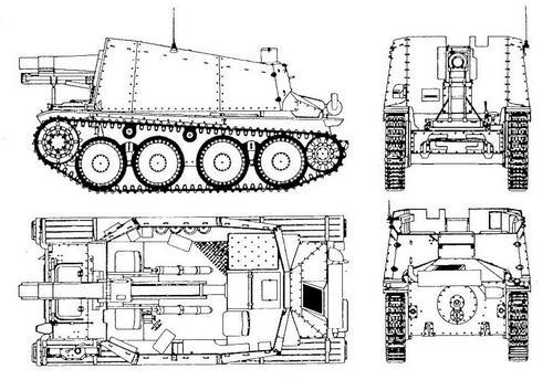 15 cm sIG 33 auf Pz.38(t) Bison (Sd.Kfz.138/1)