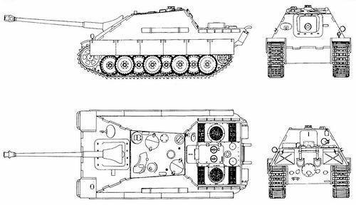 8,8 cm JagdpanzerV Jagdpanther (Sd.Kfz.173)