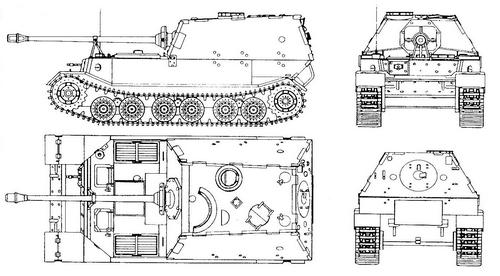 8,8 cm Jagdpanzer Tiger(p) Ferdinand/Elefant (Sd.Kfz.184)