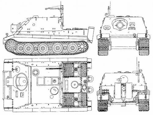 38 cm Panzerm?rser Sturmtiger Ausf.E