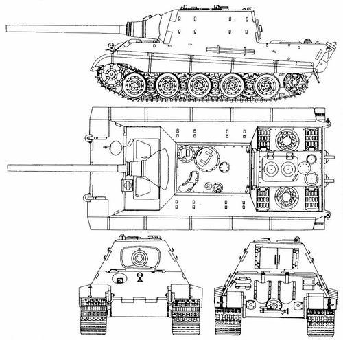 12,8 cm Jagdpanzer <a href='https://arsenal-info.ru/b/book/2638437086/6' target='_blank'>Jagdtiger</a> Ausf.B (Sd.Kfz.186)