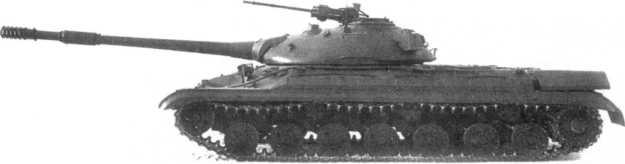 40.Опытный образец танка «объект 265», вид слева. На башне видна зенитная установка 14,5-мм пулемета КПВТ (РГАЭ).