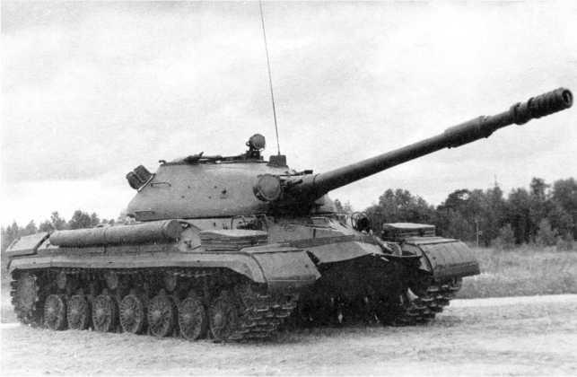 49.Тяжелый танк Т-10М с демонтированной зенитной установкой пулемета КПВТ (ИЖ).