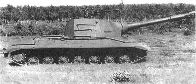 84.Самоходно-артиллерийская установка «объект 268» на заводских испытаниях, вид справа. 1957 год (АСКМ).